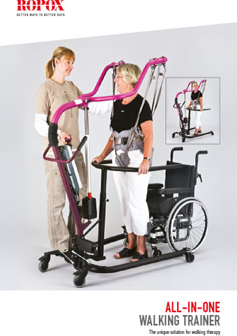 Brochure Ropox Lift all in one Walking Trainer