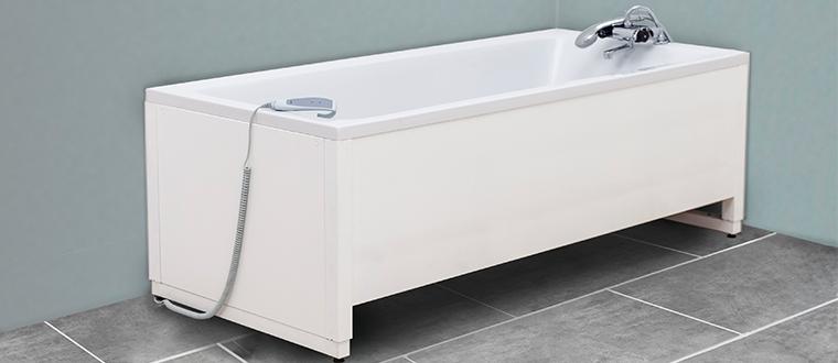 Bathtub / badekar example