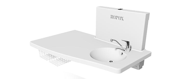Medi2 Vario puslebord with sink