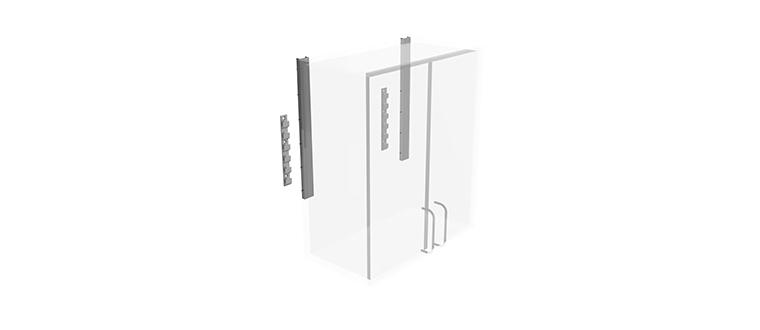 Stationary Brackets / Bæringer cabinet system