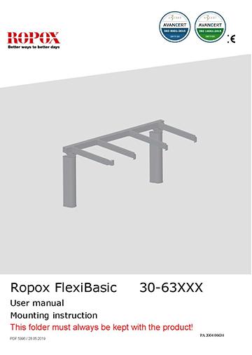 Ropox user & mounting manual - FlexiBasic