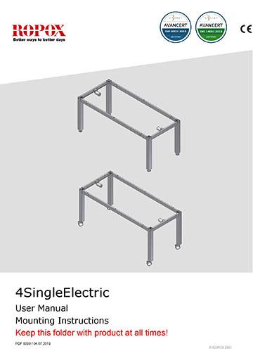 Ropox user & mounting manual - 4SingleElectric