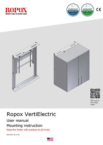 Ropox user and mounting manual - VertiElectric US