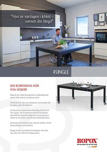 Datablad Ropox 4Single Tables