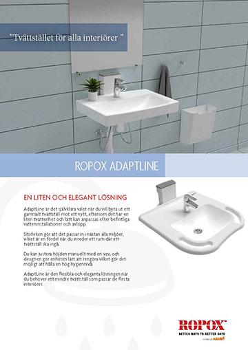 Ropoxblad AdaptLine Tvättställ
