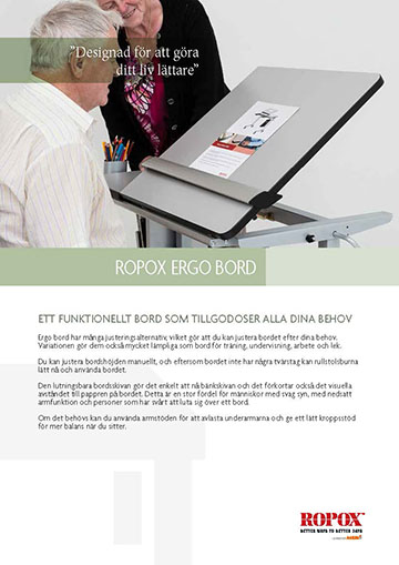 Datablad Ropox Ergo Bord