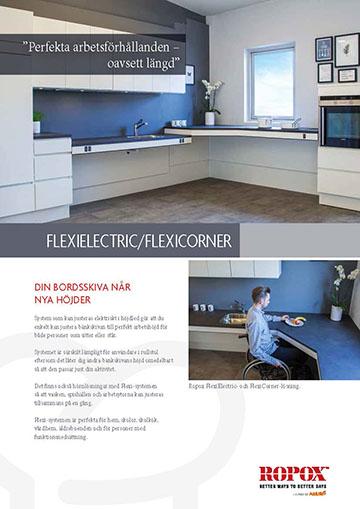 Datablad Ropox Köksskåp FlexiElectric/FlexiCorner