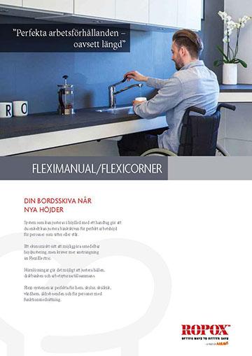 Datablad Ropox Köksskåp FlexiManual/FlexiCorner