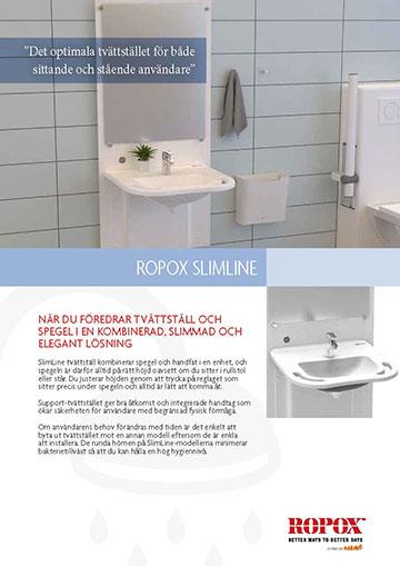 Datablad Ropox SlimLine Tvättställ