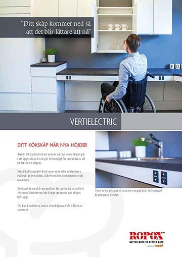 Datablad Ropox Köksöverskåp VertiElectric