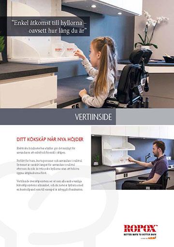 Datablad Ropox Köksöverskåp VertiInside