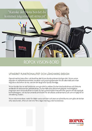Datatblad Ropox Vision Bord